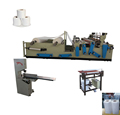 Low price semi automatic toilet paper production line