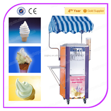 Two Flavors + One Mix Design New Soft Ice Cream Machine