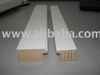 Stock Wooden Picture Frame Moulding- White Moulding