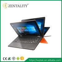 Newest 360 degree turning i7 Laptop 360 degree turning laptop computer 8G+256G SSD