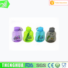 380ML Professional Custom logo smart kids plastic water bottle with dust proof cap
