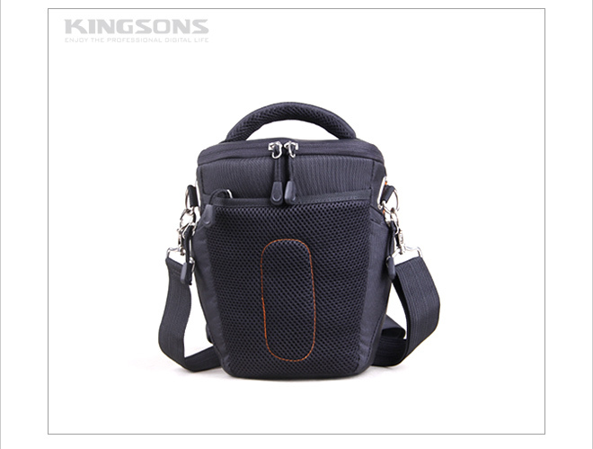 High quality nylon blue waterproof camera bag