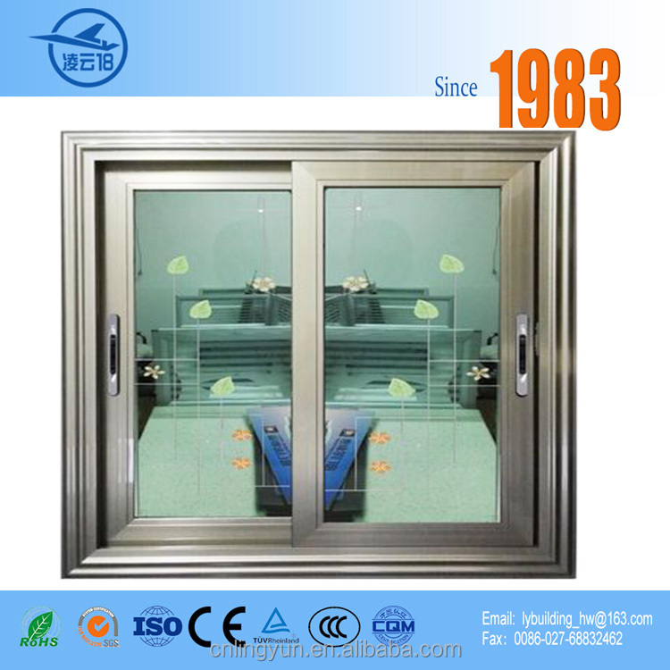 Wholesale tempered glass cheap aluminium sliding window