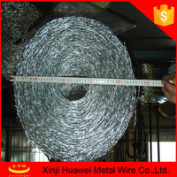 4 barbed points doubled strand barbed wire coils hot sale in market
