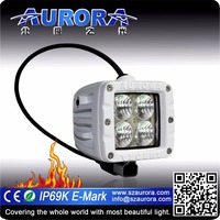 Aurora IP69K 2 inch Marine led work light utv 4x4 motorcycle light bar