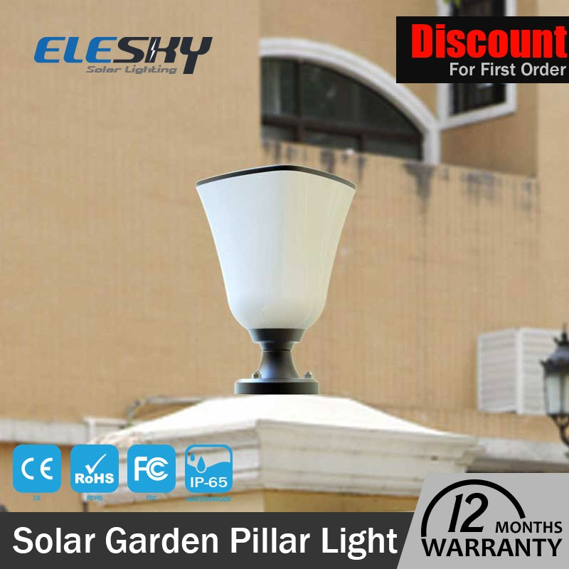 Hot selling solar lawn lamps modern garden lamp post lights