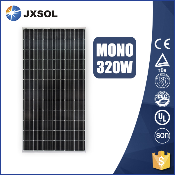qualified solar energy photovoltaic panel PV 320w mono panel solar