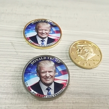 High Quality Cusomized Coin skull coin donald trump commemorative coin