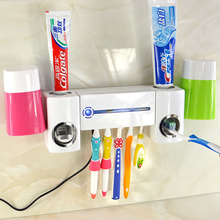 Hot sale portable UV toothbrush sterilizer automatic toothpaste device/germicidal light ultraviolet sterilizer