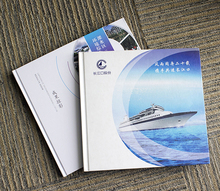 Custom Printing A4 A5 Hard Cover Catalogue Brochures on Art Paper
