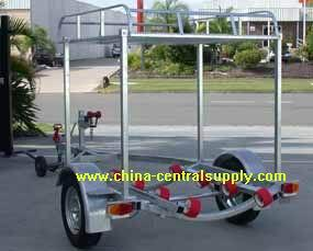 Manufacturer and Factory Supply Galvanized Jet ski trailer CT0065B