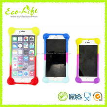 high quality for all sizes mobile phones 3D silicone universal Cellphone case