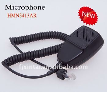 Taxi radio microphone HMN3413AR for GM3688,GM3188,GM300
