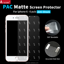 Cell phone matte film clear anti-fingerprint PAC screen protector for iphone 6 / 6 plus