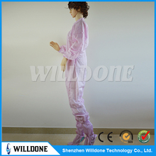 cleanroom polyester antistatic smock