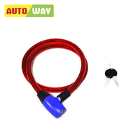 082368 High quality CHINA cheap price bicycle cable lock BICYCLE U LOCK