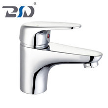 Deck Mounted Singl Holes Hot Cold water Bathroom Basin Sink Mixer Faucet Tap