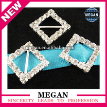 Wholesale rhinestone cross embellishment buckle diamond chair sash buckle