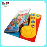 attractive popular super quality custom children music book printing