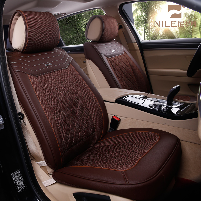 Leather car seat cover manufacturer in delhi