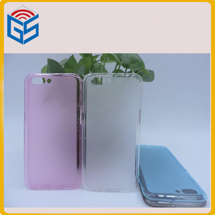 Soft Pudding Gel TPU Back Cover Case For Oppo R11 Cover Para Cell Phone