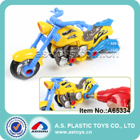 Battery assembly plastic toy motorbike with light and sounds
