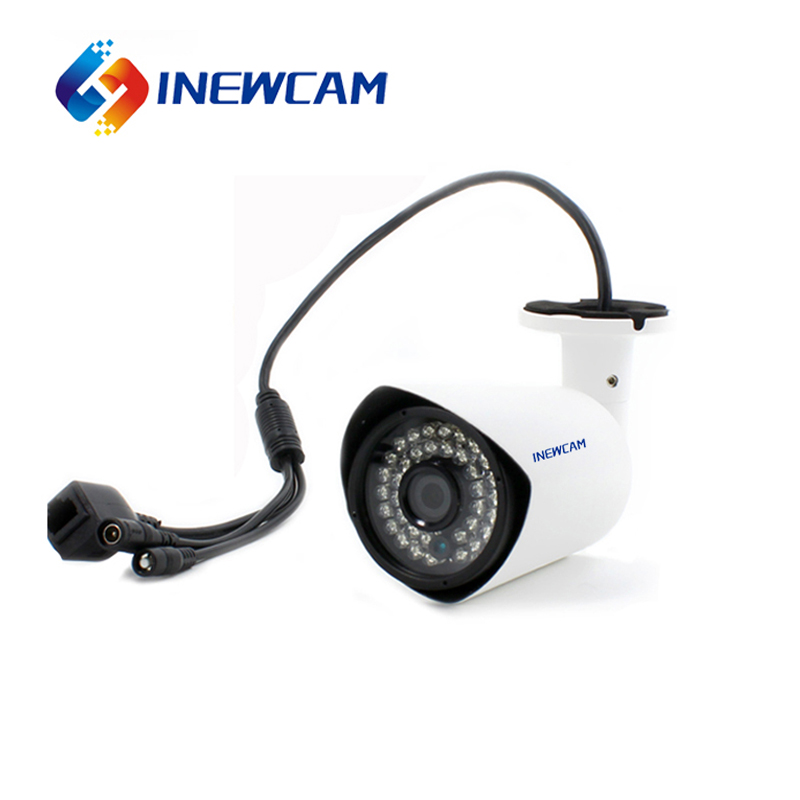 CCTV Surveillance Equipment 2MP PoE Outdoor External Microphone Shenzhen IP Camera