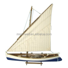 Wooden Fishing Boat Model, decorative trawler model, Souvenir Nautical Gifts Decoration Handicrafts, Decorative Boat, Boat Model