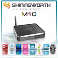 Aluminum MXQ Amlogic S812 Quad Core Google andriod 5.1 Android Tv Box M10 2GB/8GB Kodi Bluetooth Dual-band Wifi 4k 2k support