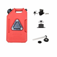 1/2/3/5/8 gallons Kindle heavy duty anti-corrosion plastic jerry can fuel container for sales