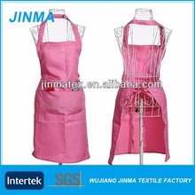 Pink Waterproof Chef Apron,Cooking Kitchen Apron
