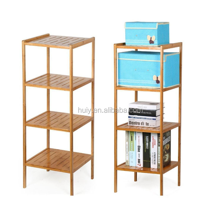home/hotel/library use wooden book storage organizer shelf display shelf rack