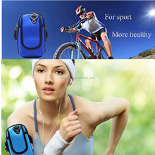 Outdoor Cycling Running Wrist Pouch ArmBand Wallet Bag for Mobile Phone