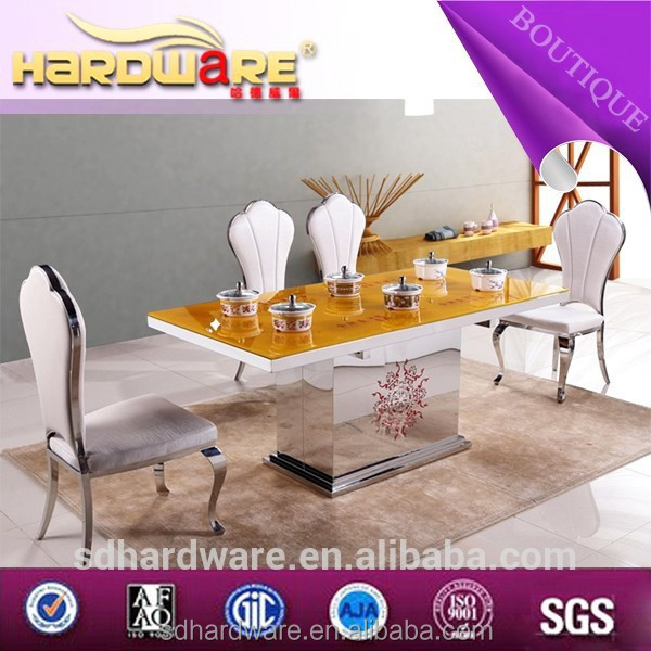 stainless steel high end restaurant chair furniture