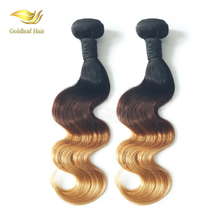 Cheap blonde brazilian hair color 27 wholesale 100% brazilian virgin hair color 4 27