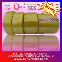 BOPP sealing tape with water based glue in transparent color PT-43