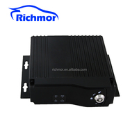 Mini 3G 4G GPS Wi-FI 4CH taxi/school bus/car dual sd card mobile dvr