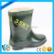 35kv industrial safety rubber shoes/Electrical Insulation Boots Rubber Boots