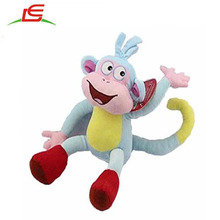 Wholesale 9 Inch Dora the Explorer Boots Monkey Toddler Stuffed Plush Kids Toys