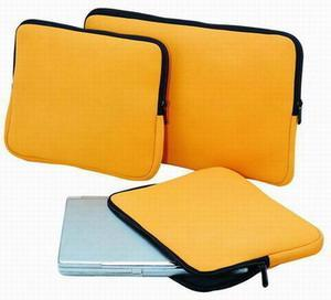 Yellow 12.5 inch high quality cute neoprene laptop sleeve