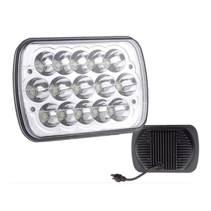 7'' 45W H4 Replaced 5x7 LED Driving Headlamp High Low Sealed Beam 7x6 LED Headlights in Auto Lighting Head Light System