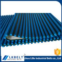 Good quality liquid crystal display conveyor belt with blue sponge covered