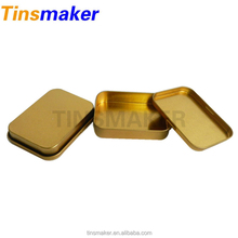 High quality colored rectangular bulk mint small metal tins for sale