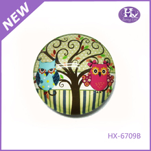 New Product HX-6709B Dome Halloween Glass Voice Recorder Fridge Magnet