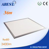 90lms/w Side Illumination 3600lms 36w Led Panel 60x60 600*600mm 595*595mm