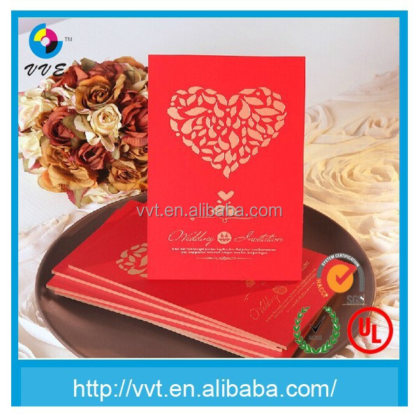 Popular custom made red envelope for wedding