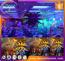 Bueatiful giant party item type wedding decoration inflatable Starfish / Sea Stars for Night event, Party with Fan
