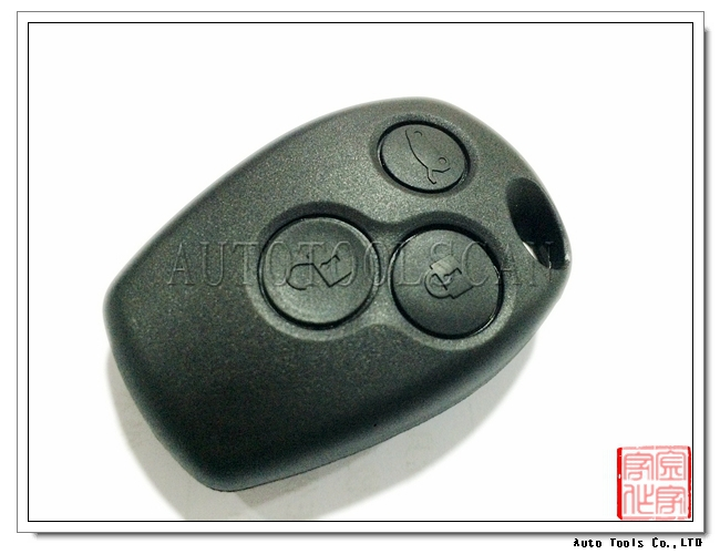 433mhz blank <strong>key</strong> for Renault 3 Button remote card PCF7946AT Without Logo AK010005