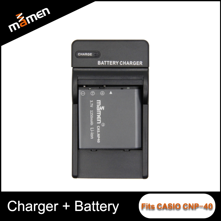 Charging Fast Camera Battery Charger With 600mAh 4.2V Universal Charger All models Choose CNP-40 For Casios Condensers DSLR