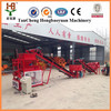 Interlocking soil cement briick making machine HBY2-10 Red clay brick machine price